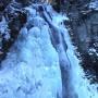 番所大滝 氷瀑