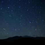 一ノ瀬園地からの星空