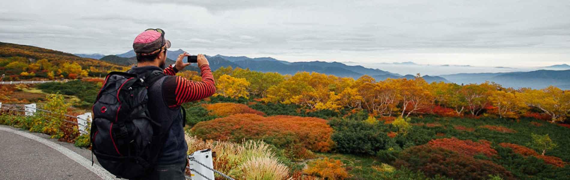 乗鞍岳の紅葉 Fall Colors on Mount Norikura